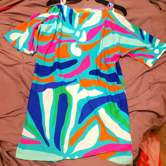 Colorful dress!